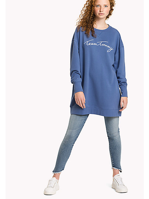 TOMMY HILFIGER Comfort Fit Sweatshirt mit Logo - DUTCH BLUE - TOMMY HILFIGER Clothing - main image