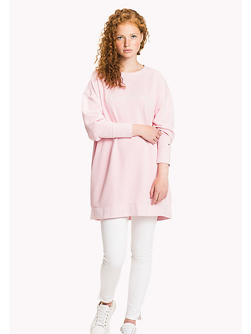 TOMMY HILFIGER Comfort Fit Logo Sweatshirt - ORCHID PINK - TOMMY HILFIGER Women - main image