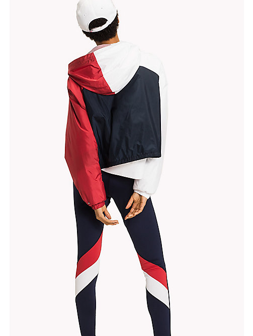 TOMMY HILFIGER Athletic Windbreaker - MIDNIGHT/HAUTE RED/CLASSIC WHITE - TOMMY HILFIGER Athleisure - detail image 1