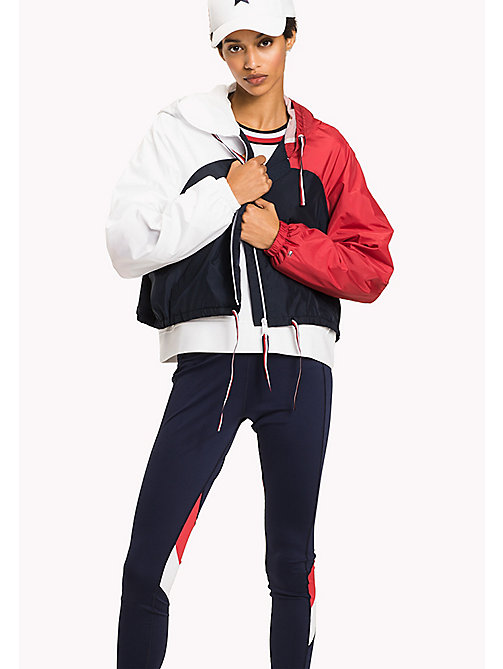 TOMMY HILFIGER Athletic Windbreaker - MIDNIGHT/HAUTE RED/CLASSIC WHITE - TOMMY HILFIGER Athleisure - main image