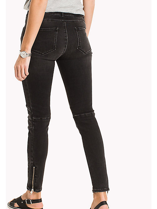 TOMMY HILFIGER Skinny Fit Biker Jeans - PIPER - TOMMY HILFIGER NEW IN - detail image 1