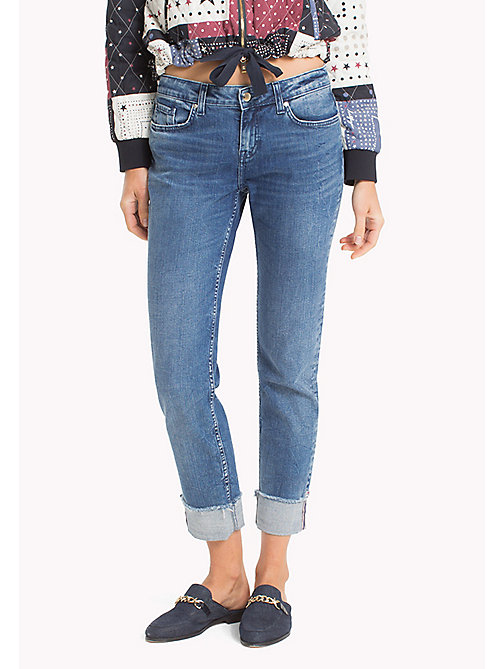 TOMMY HILFIGER Rolled Up Jeans - ALLEGRA - TOMMY HILFIGER Sustainable Evolution - main image