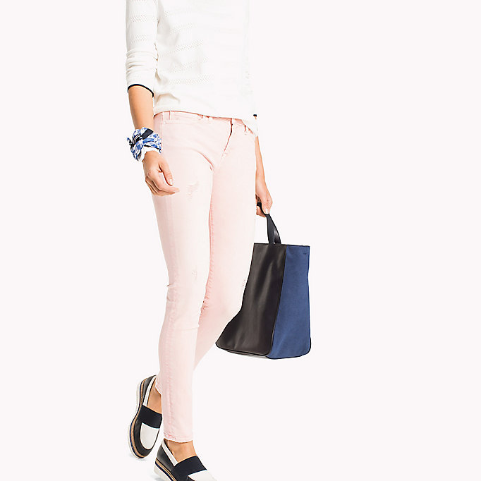 TOMMY HILFIGER Dyed Skinny Fit Jeans - TAPIOCA - TOMMY HILFIGER Women - main image