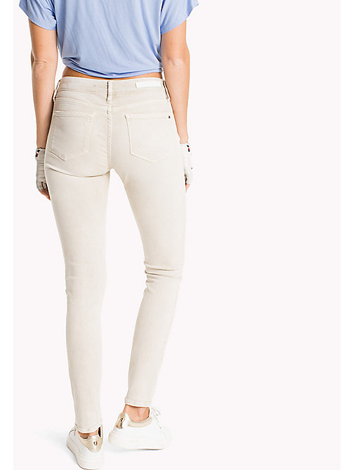 TOMMY HILFIGER Dyed Skinny Fit Jeans - TAPIOCA - TOMMY HILFIGER NEW IN - detail image 1