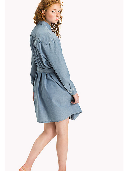 TOMMY HILFIGER Chambray Shirt Dress - MIFFY - TOMMY HILFIGER Clothing - detail image 1