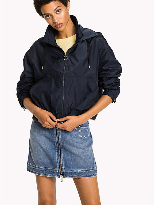 TOMMY HILFIGER Packable Short Jacket - MIDNIGHT - TOMMY HILFIGER Women - main image