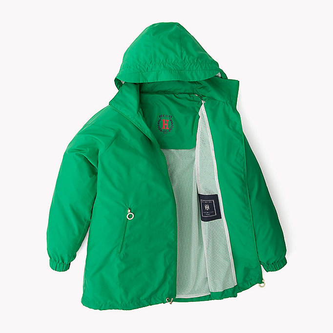 TOMMY HILFIGER Packable Parka - MIDNIGHT/ FLAME SCARLET / CLASSIC WHITE - TOMMY HILFIGER Clothing - detail image 5