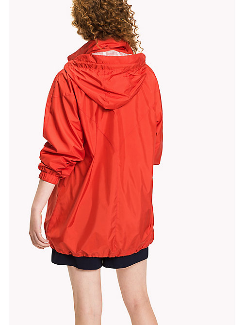 TOMMY HILFIGER Packable Parka - FLAME SCARLET - TOMMY HILFIGER NEW IN - detail image 1