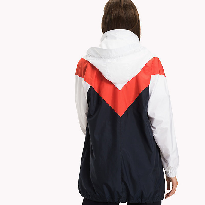 TOMMY HILFIGER Packable Parka - FLAME SCARLET - TOMMY HILFIGER Clothing - detail image 1