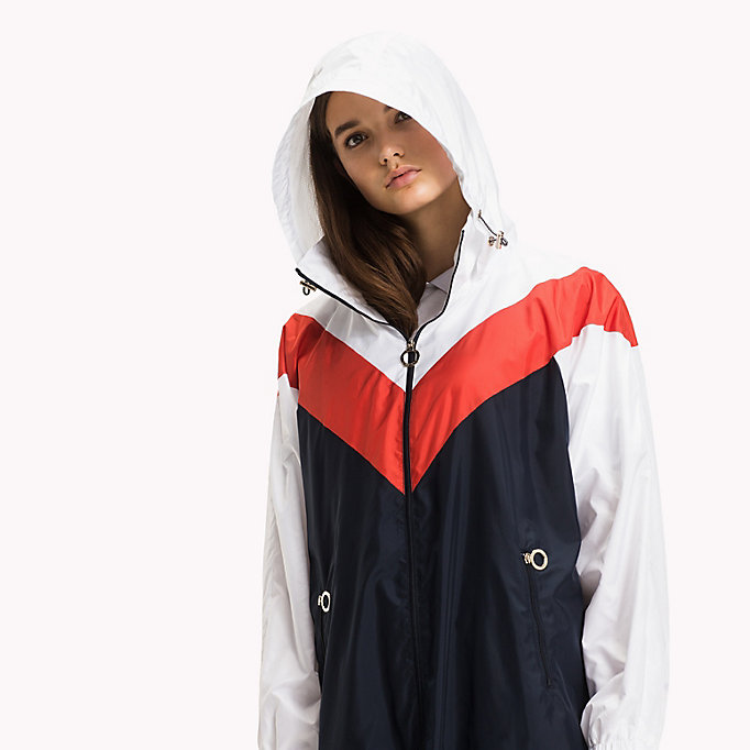 TOMMY HILFIGER Packable Parka - FLAME SCARLET - TOMMY HILFIGER Clothing - detail image 3
