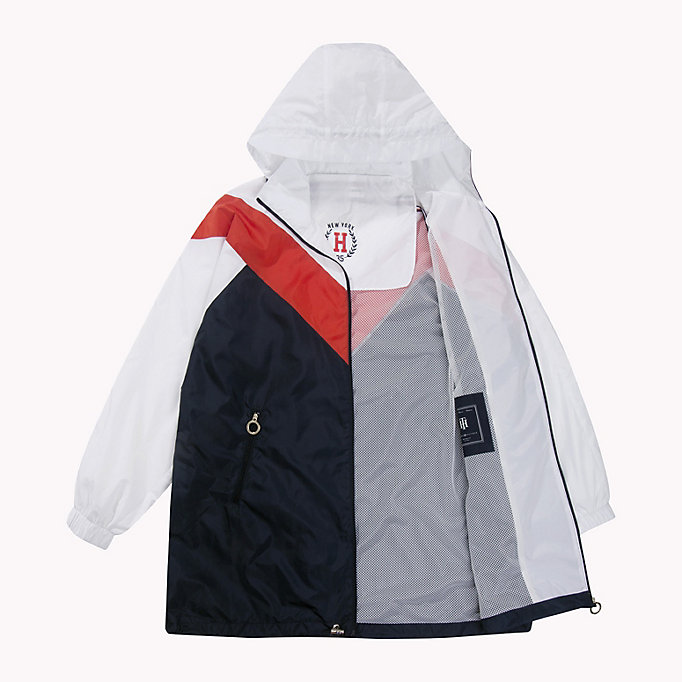 TOMMY HILFIGER Packable Parka - FLAME SCARLET - TOMMY HILFIGER Women - detail image 4