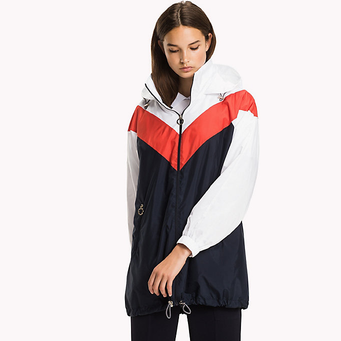 TOMMY HILFIGER Packable Parka - FLAME SCARLET - TOMMY HILFIGER Women - main image