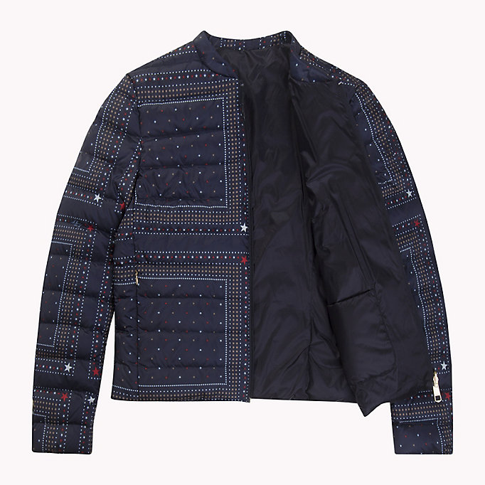 TOMMY HILFIGER Reversible Quilted Jacket - HYDRANGEA / SPEED PATCHWORK STP - TOMMY HILFIGER Women - detail image 4
