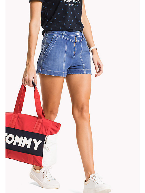 TOMMY HILFIGER Regular Fit Denim Shorts - LYLYAN - TOMMY HILFIGER Vacation Style - main image