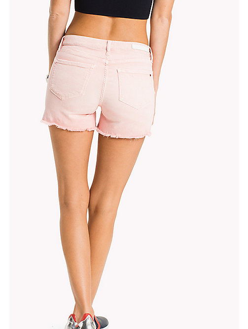 TOMMY HILFIGER Denim Shorts - BUBBLEGUM - TOMMY HILFIGER Vacation Style - detail image 1