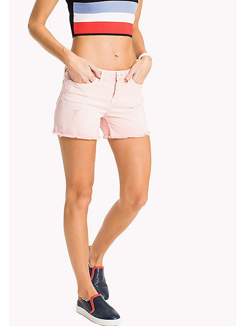 TOMMY HILFIGER Denim Shorts - BUBBLEGUM - TOMMY HILFIGER Clothing - main image