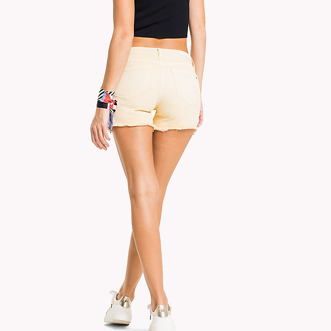 TOMMY HILFIGER Denim Shorts - BUBBLEGUM - TOMMY HILFIGER Clothing - detail image 1