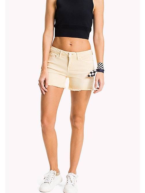 TOMMY HILFIGER Denim Shorts - SUNSHINE - TOMMY HILFIGER Vacation Style - main image