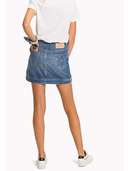 TOMMY HILFIGER Slim Fit Denim Mini Skirt - KEENA - TOMMY HILFIGER Vacation Style - detail image 1