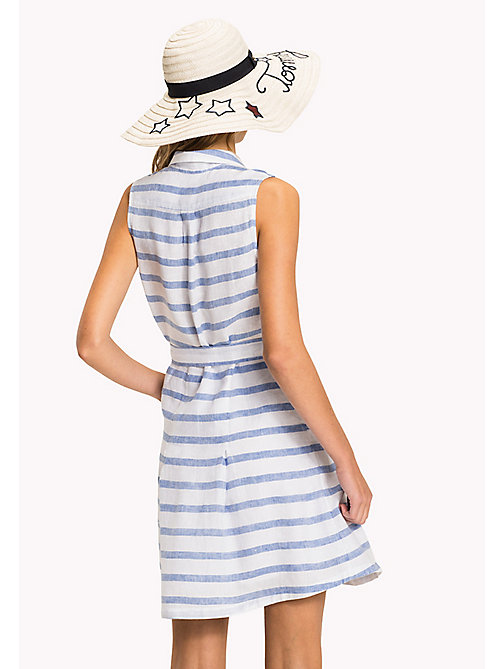 TOMMY HILFIGER Sleeveless Patterned Dress - BRETON STP / REGATTA - TOMMY HILFIGER VACATION - detail image 1