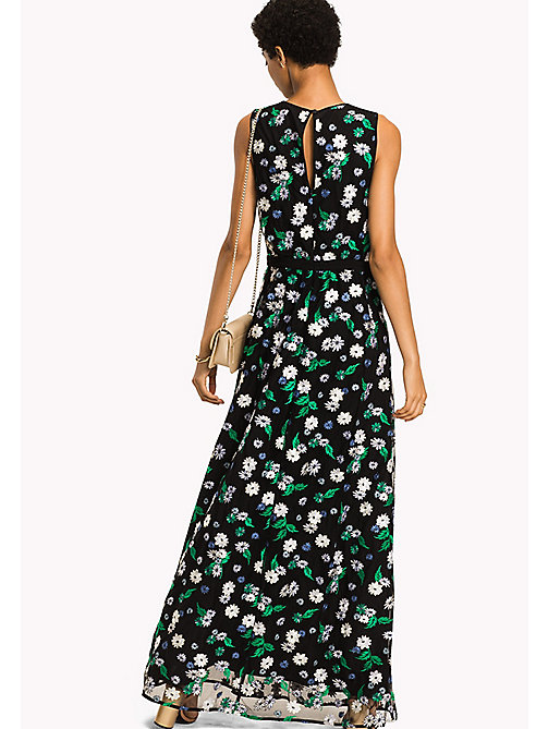 TOMMY HILFIGER Floral Sleeveless Maxi Dress - BLACK BEAUTY MULTI / FLORAL - TOMMY HILFIGER Women - detail image 1