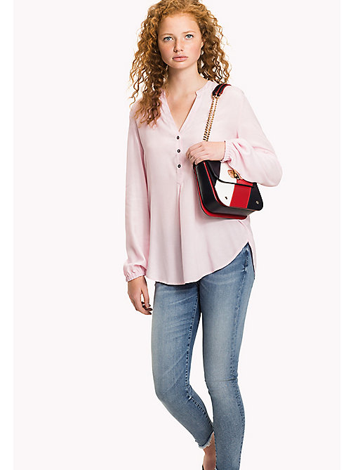 TOMMY HILFIGER Regular Fit Blouse - ORCHID PINK - TOMMY HILFIGER Tops - main image