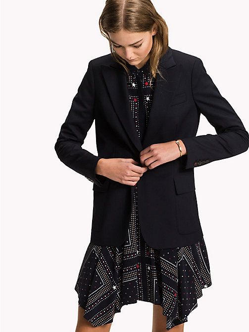 TOMMY HILFIGER Blazer monopetto regular fit - MIDNIGHT - TOMMY HILFIGER Look per l'ufficio - immagine principale
