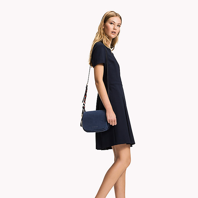 TOMMY HILFIGER Punto Milano Dress - CRIMSON - TOMMY HILFIGER Clothing - main image