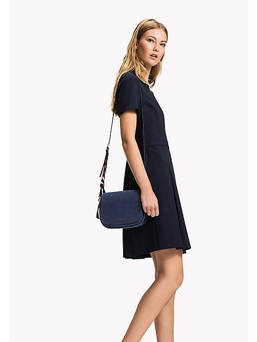 TOMMY HILFIGER Punto Milano Dress - MIDNIGHT - TOMMY HILFIGER Миди - главное изображение