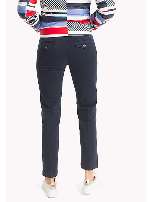 TOMMY HILFIGER Moa Regular Fit Chinos - MIDNIGHT - TOMMY HILFIGER Trousers - detail image 1