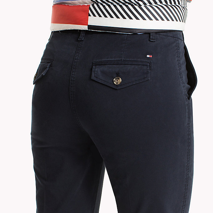 TOMMY HILFIGER Moa Regular Fit Chinos - CRIMSON - TOMMY HILFIGER Women - detail image 3