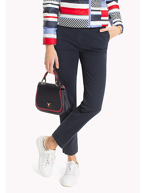 TOMMY HILFIGER Moa Regular Fit Chinos - MIDNIGHT - TOMMY HILFIGER Trousers - main image