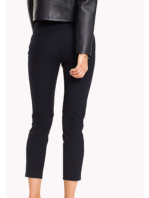 TOMMY HILFIGER Slim fit broek - MIDNIGHT - TOMMY HILFIGER NIEUW - detail image 1