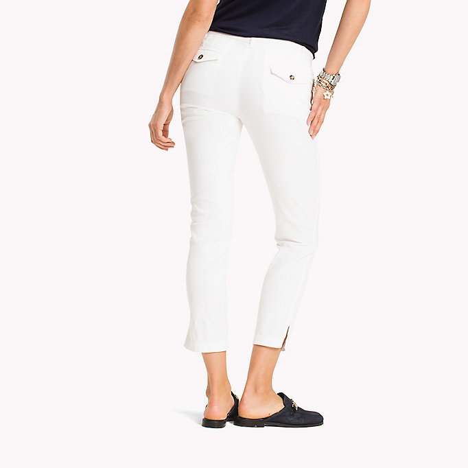 TOMMY HILFIGER Slim Fit Chinos - REGATTA - TOMMY HILFIGER Women - detail image 1