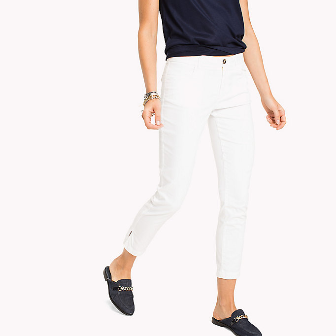 TOMMY HILFIGER Slim Fit Chinos - REGATTA - TOMMY HILFIGER Women - detail image 2