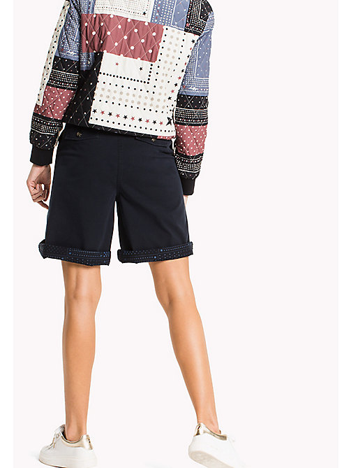 TOMMY HILFIGER Regular Fit Bermuda Shorts - MIDNIGHT - TOMMY HILFIGER Trousers & Shorts - detail image 1