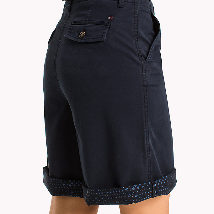 TOMMY HILFIGER Regular Fit Bermuda Shorts - CRIMSON - TOMMY HILFIGER Clothing - detail image 3