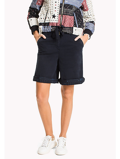 TOMMY HILFIGER Regular Fit Bermuda Shorts - MIDNIGHT - TOMMY HILFIGER Trousers & Shorts - main image