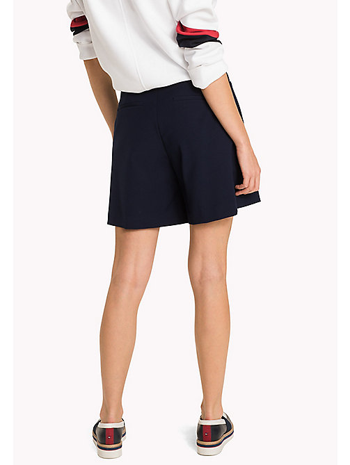 TOMMY HILFIGER Fitted Shorts - MIDNIGHT - TOMMY HILFIGER Trousers & Shorts - detail image 1