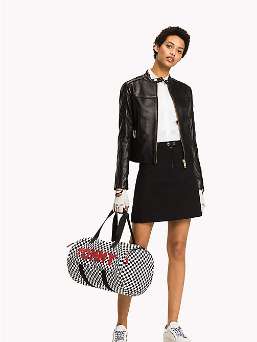 TOMMY HILFIGER A-Line Mini Skirt - BLACK BEAUTY - TOMMY HILFIGER Clothing - main image