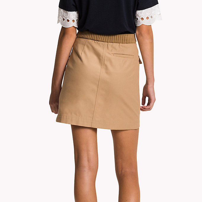 TOMMY HILFIGER Belted Mini Skirt - MIDNIGHT - TOMMY HILFIGER Women - detail image 1