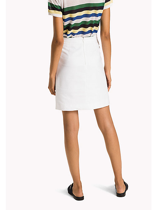 TOMMY HILFIGER Slim Fit Skirt - CLASSIC WHITE -  Occasion wear - detail image 1