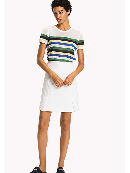 TOMMY HILFIGER Slim Fit Skirt - CLASSIC WHITE - TOMMY HILFIGER Occasion wear - main image