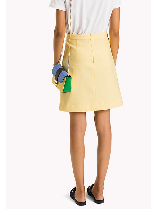 TOMMY HILFIGER Slim Fit Skirt - SUNSHINE - TOMMY HILFIGER Occasion wear - detail image 1