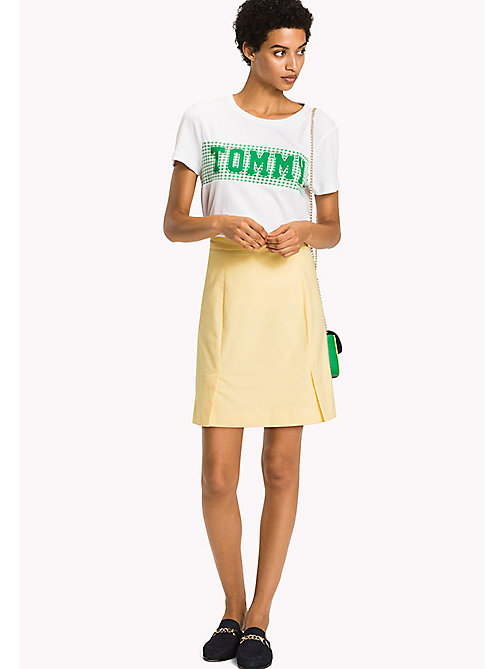 TOMMY HILFIGER Slim Fit Skirt - SUNSHINE - TOMMY HILFIGER Occasion wear - main image