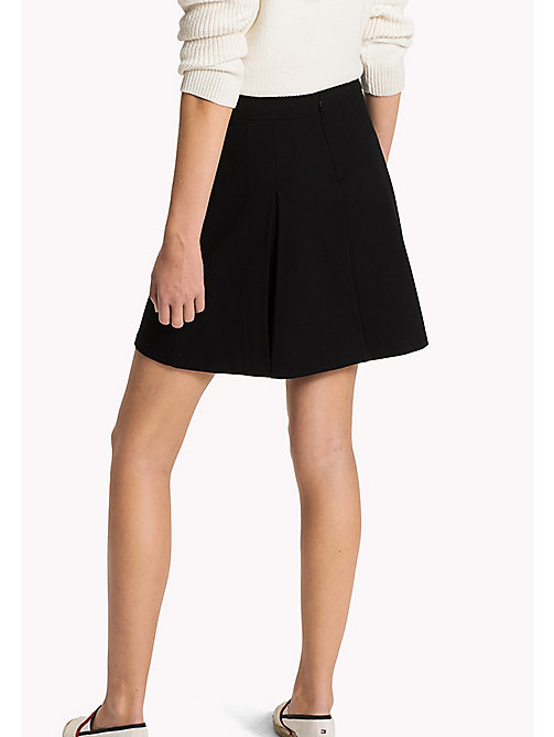 TOMMY HILFIGER Punto Milano Skirt - BLACK BEAUTY - TOMMY HILFIGER Women - detail image 1