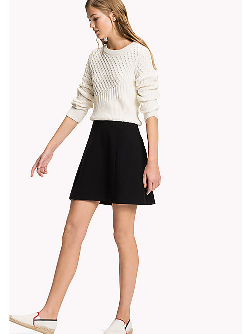 Punto Milano Skirt - BLACK BEAUTY - TOMMY HILFIGER Clothing - main image