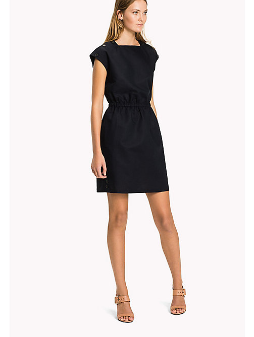 TOMMY HILFIGER Fitted Dress - MIDNIGHT - TOMMY HILFIGER The Office Edit - main image