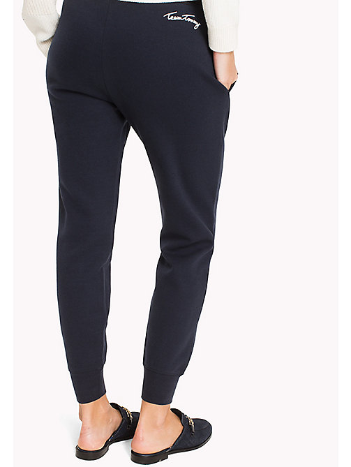 TOMMY HILFIGER Regular fit joggingbroek - MIDNIGHT - TOMMY HILFIGER Broeken - detail image 1