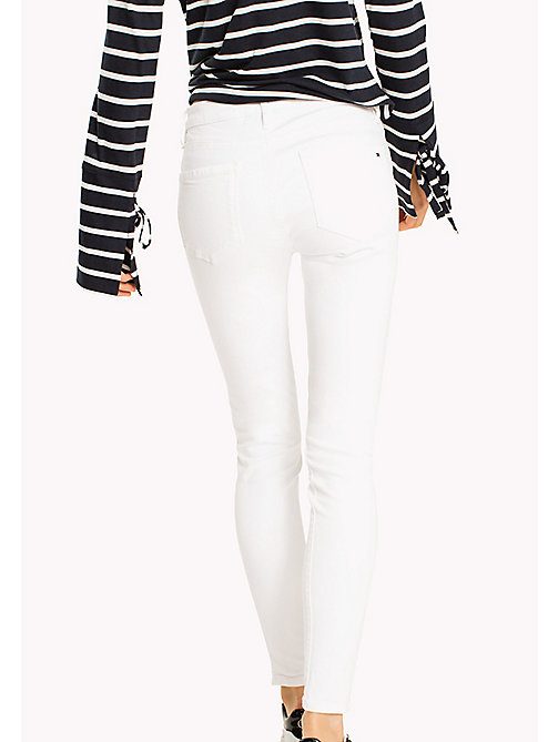 TOMMY HILFIGER Super Slim Fit Ankle Jeans - CLASSIC WHITE - TOMMY HILFIGER Women - detail image 1